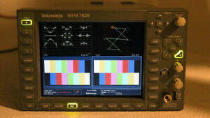 Tektronix WFM 7020 Waveform Monitor sd/hd/3g OPT: SD HD AD DL 3G