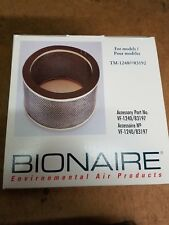 New Bionaire replacement V.O.C. odor filter model tm1240 NIB NOS