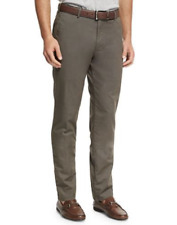 NWT $145.00 Peter Millar Soft Touch Twill Trouser Pants Size 31 Pima Cotton Grey