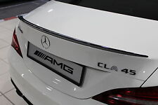 Genuine Mercedes-Benz CLA 45 C117 CLA Gloss Black Rear Boot Lid Aero Spoiler NEW