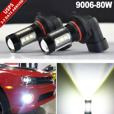 50W 9006 HB4 LED Fog Light Bulbs CREE 6500K Super Bright White High Power DRL PO