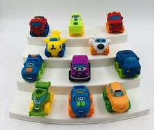 Tonka Playskool Mini Cars, Trucks, & Other Soft Rubber Vehicles Lot of 11 K16