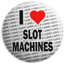 I Love Slot Machines Magnets - Gift - Birthday - Stocking Filler