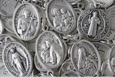 Large Catholic Italian Medal Lot - 100 Medals - FREE SHIPPING from US Seller