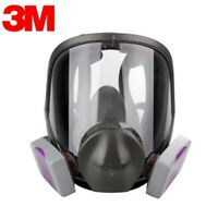 3M 6900 Full Facepiece Reusable Respirator W/ 1 Pair of 7093 P1OO Filters LARGE