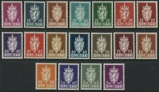 Norway Officials complete set mint o.g.