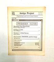 Amiga Project: Programming Journal for the Amiga Computer Vol. 1 (1986)
