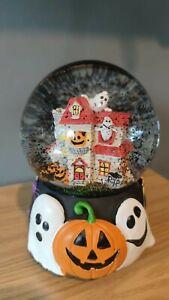 TK Maxx Halloween Haunted House Musical Snow Globe - New 🎃 👻