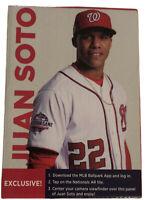 2019 MLB Juan Soto Bobblehead Washington Nationals 4/12/19