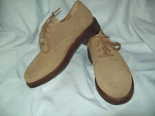 Ralph Lauren Polo Tan Suede Oxfords Size 9 1/2 D - Great condition!