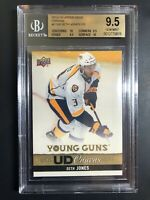 2013-14 Seth Jones Young Guns Canvas Rookie BGS 9.5