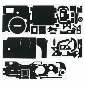 JJC KS-A7CMK Matrix Black Anti-Scratch Protective Skin Film Set For Sony a7C