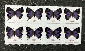 USA2021 #5568 2oz Forever Colorado Hairstreak Butterfly - Block 8