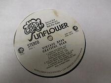 1970 Grateful Dead – Vintage Dead LP PROMO Sunflowe rSUN 5001 EX/GD+