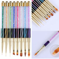 Nail Art UV Gel Liner Painting Gradient Brush Art Pens Manicure Nail Art Tools