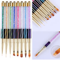 Nail Art UV Gel Liner Painting Gradient Brush Art Pens Nail Art Manicure Tools