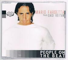 MARIO FARGETTA SAGI REITAN PEOPLE THE BEAT CD SINGOLO SINGLE cds SIGILLATO!!!
