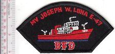 Fire Boat Massachusetts Boston Fire Department MV Matthew J Boyle Fireboat Engin