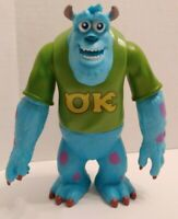 "Disney Pixar SULLY Figure MONSTERS INC University 6"" tall SPIN MASTER"