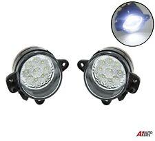 For Vw Polo 9N 2005-2009 Set Of Left & Right 9 Led Drl Fog Lights Lamps
