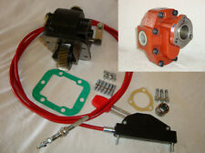 PTO & PUMP & LEVER CABLE FOR ISUZU MYY6S (6 SPEED) GEARBOX   HIAB CRANE TIPPER