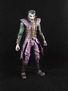"Custom McFarlane DC Multiverse The Batman who Laughs Joker Colors 7"" Scale"