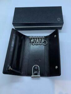 Mont Blanc Leather Good Meisterstuck Selection Key Case Mocha #103405