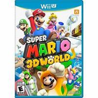 Super Mario 3D World Nintendo Wii U Very Good 3Z