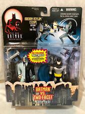 NEW BATMAN ADVENTURES ANIMATED - ARKHAM ASYLUM ESCAPE - BATMAN VS TWO-FACE MOC
