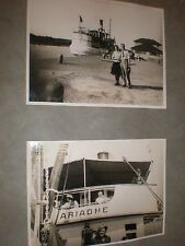 Old Photographs SS Ariadne Gota Canal Sweden c1938