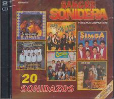 Diablos Locos,Simba Musical,Carro Show,Campeche Show,Super Lamas 2CDSNewSealed
