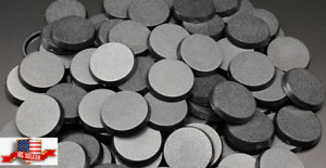 Pack - 100 -, 32 mm Plastic Round Bases Miniature Wargames Table Top Gaming 40k