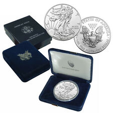 2017 American Silver Eagle Coin BU  in U.S Mint Box