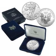 2017 American Silver Eagle Coin BU  in U.S Mint Box
