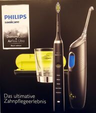 Philips Sonicare HX8491/03 DiamondClean AirFloss Ultra Set schwarz BLACK EDITION