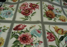 Felicity Sentimental Studios tulips floral flowers blocks panel Moda fabric