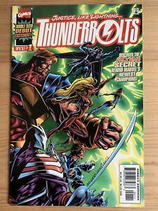 THUNDERBOLTS  N° 1 A - MARVEL 1997 ( COMIC USA )