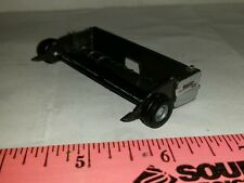 1/64 ERTL farm toy custom straw pickup head 4 agco gleaner combines see descrip!