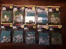 10 VINTAGE CHAOS EPIC SPACE MARINE WARHAMMER 40k sealed blister packs 1990-91