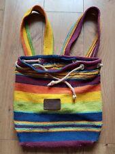 AFRICAN LOOM Hand made rucksack Bag