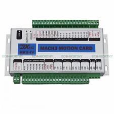 4 Axis USB 2.0 Mach3 Motion Control Card CNC Interface Breakout Board 400KHz MK4