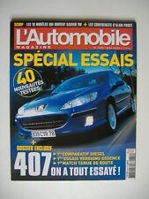 L'AUTOMOBILE magazine 696 ALFA GT 3.2-ASTON MARTIN DB9-VOLVO XC90 D5-BMW Z4 2.2