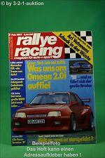 Rallye Racing 2/87 Opel Omega 3000 BMW 735i Kailine