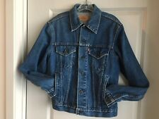 New listing Levi's Mens 42L Vintage Trucker Denim Jacket 100% Cotton 71506-0216