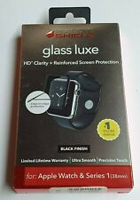 ZAGG InvisibleShield Luxe Screen Protector for Apple Watch Series 1 (38mm) Black