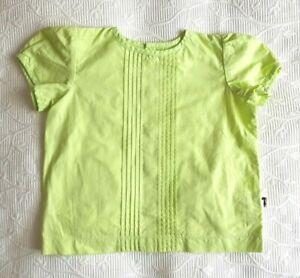 "* LACEY LANE * Sz 1 12-18 months girls ""INDIE"" floral pinch pleat blouse!"