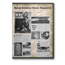 Naval Aviation News Magazine Collection 91 World War 2 WWII Issues on DVD - A863