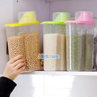 3 Pack 2.5L Large Cereal Keeper Food Storage Container 23.75 Cups BPA Free USA