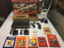 ATARI VCS 2600 Sunnyvale Console System 1981 Original BOX Factory Reconditioned