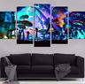 Wall decor SHROOM WORLD RICK AND MORTY CANVAS SET Painting Wall